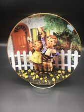 Come Back Soon - Hummel Little Companions 8 Inch Collector Plate