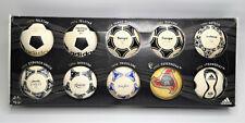 "adidas mini Bälle ""World Cup Historical Mini Matchball Set"" Design von 1970-2006"