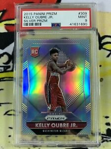 2015-16 Panini Prizm Kelly Oubre Jr Silver Rookie RC #309 PSA 9