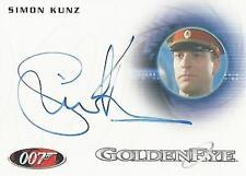 "James Bond 50th Anniversary: A211 Simon Kunz ""Duty Officer"" Autograph Card"