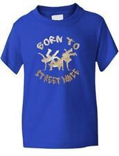T-shirts et débardeurs bleus à longueur de manches manches courtes pour fille de 8 à 9 ans
