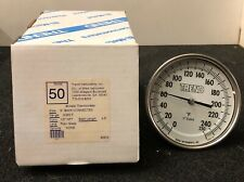 Trend Wika Bi Metal Thermometer 0 250f Model 50 12 Npt