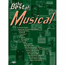 The Best of Musical Book Piano Vocal Guitar Cabaret Stage Show Tunes B38 S170