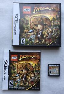 Lego Indiana Jones - LEGO Indiana Jones (Nintendo DS) - Game