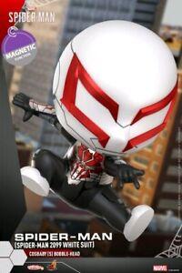 Spider-Man - Spider-Man 2099 White Suit Cosbaby-HOTCOSB770-HOT TOYS
