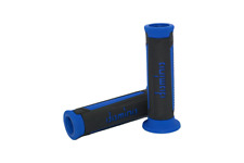Domino A350 Black / Blue Open End Road Touring Grips to fit  Triumph 900 Trophy