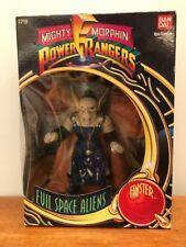 """Mighty Morphin PowerRangers 8"""" Evil Space Alien """"Finster"""" minor shelf wear 1994"""