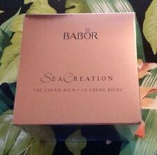 Babor SeaCreation Cream Rich 50 ml NEW IN BOX