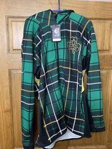 Nike Boston Celtics Authentic Earned Edition Showtime Flex Warm Up Jacket Large