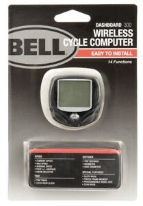 Bell Dashboard 300 Wireless Bicycle/Bike Computer 14 Functions *New In Package*
