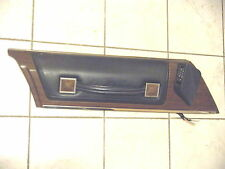 Cadillac Fleetwood Driver Side Front Upper Door Panel With Wiper Control 1973