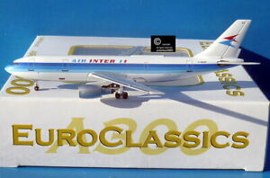 Aeroclassics Air Inter A300B4 1:400 diecast model aircraft.