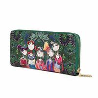 portefeuille des femmes sac en cuir a glissiere creatif portefeuilles de ca W8I3