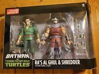 DC Collectible Batman Vs Teenage Mutant Ninja Turtles TMNT Ra's Al Ghul Shredder
