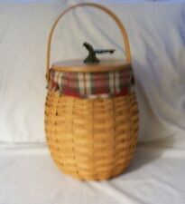 Longaberger 2000 October Fields Basket Combo With Lid