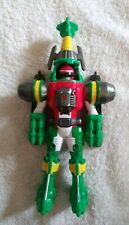 BANDAI 2006 POWER RANGERS OPERATION OVERDRIVE GREEN TURBO DRILL RANGER 9''-RARE!