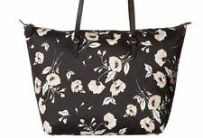 0f5c71fffd27 Ralph Lauren Tote Medium Canvas Chadwick Black Floral Handbag Top Zip