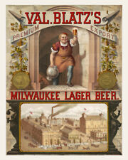 11x14 Print: Blatz Brewery, Lager Beer, Milwaukee, Wisconsin, 1879
