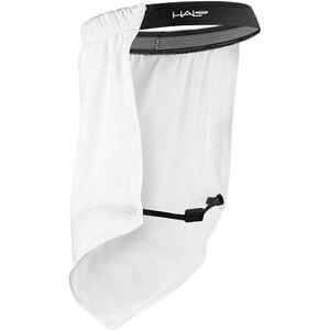 Halo Headband Sun Shield UPF Protection Pullover Sweatband - White
