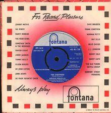 "Donna Douglas(7"" Vinyl)The Sheperd/ I'm Dancing With Tears-Fontana-267 -VG/VG"