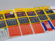 Lot Of 12 Singer Sewing Machine Needle Packages style 2045 2020 size 10, 11