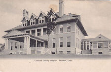Winsted , Connecticut, 1901-07 ; Litchfield County Hospital