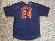 Miguel Cabrera Detroit Tigers MLB Adidas Jersey Youth Size XL 18-20 Boys