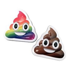 Set of 2 Poop Emoji Vanilla Candy in Cute Collectible Tins!