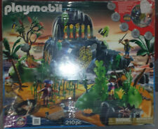 PLAYMOBIL #5134 Complete Set ~PIRATE ADVENTURE ISLAND~ Brand New, box is damaged