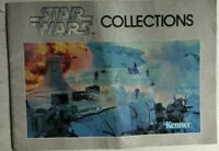 STAR WARS COLLECTIONS small vintage 20-page toy catalog (1982) Kenner Toys