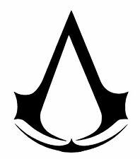 assassins creed emblem Small vinyl car Decal / Sticker