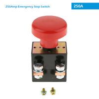 12V 250A KFZ Drucktaster Abschaltung Schalter Tastschalter Batterietrennschalter