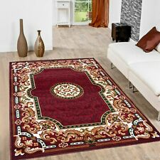 Rugs Area Rugs Carpets 8x10 Rug Oriental Floral Large Living Room 5x7 Red Rugs ~