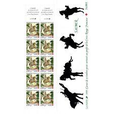 Carnet Croix-Rouge CR2044 - Saumur tapisserie - CR (2946a) - 1995