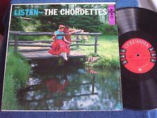 The Chordettes/Listen/1957 DG Mono/6 Eye Label/Columbia CL 956/EX+ to M-
