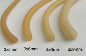 Natural Latex Rubber Tube Slingshot Catapult Surgical Elastic. Various Sizes