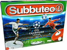 Football Game UEFA CHAMPIONS LEAGUE SUBBUTEO Board Table Game Soccer Kids Boys