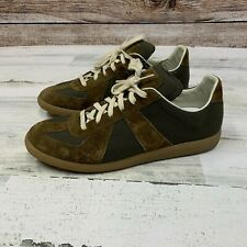 *Worn Once* Maison Martin Margiela 'Replica' GAT Green Sneakers Size 12