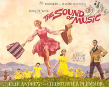 1965 THE SOUND OF MUSIC Glossy 8x10 Photo Julie Andrews Poster Drama Print