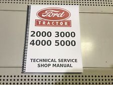 3000 Ford Technical Service Shop Repair Manual