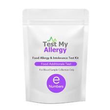 Test My Allergy - Cibo Artificials Intolleranza Test Kit