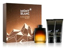 MONT BLANC LEGEND NIGHT 100ML EDP + GEL DOUCHE 100ML + APRES RASAGE 150ML