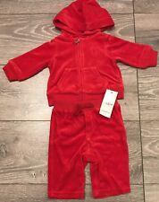 New Ralph Lauren Baby Girl Velour  Hoodie &Pant Set 6M