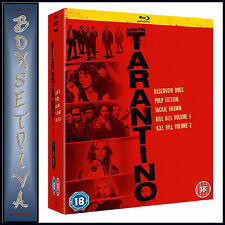 QUENTIN TARANTINO - 5 MOVIE COLLECTION *BRAND NEW BLU-RAY BOXSET***