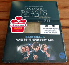 Fantastic Beasts and Where to Find Them ( 3D + 2D Blu-ray)  STEELBOOK / Region A