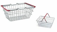 2 x Mini Shopping Basket Shopper Food Storage Kids Role Fun Play Gift Toy New