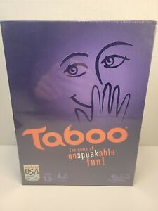 BRAND NEW Taboo Board Game by Hasbro FAST SHIPPING