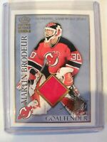 Martin Brodeur 2004 Crown Royale Authentic Game Worn Jersey 298/400 #14