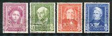 Bundespost  117 - 120 gebruikt met kleine gebreken