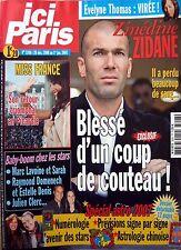 2007: ZINEDINE ZIDANE_MISS FRANCE 2007_HELENE SEGARA_PATRICK BRUEL_JAMEL DEBBOUZ